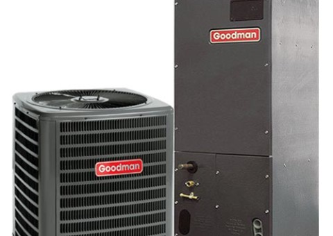 goodman heating and air. over 40+ years heating \u0026 air exp. goodman and
